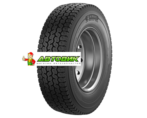 Грузовая шина Michelin 235/75R17,5 132/130M X Multi D TL M+S