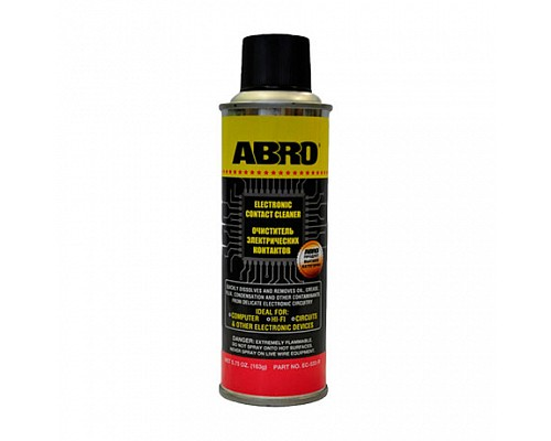 ABRO очиститель контактов EC-533-R 163г. 1шт./12шт.