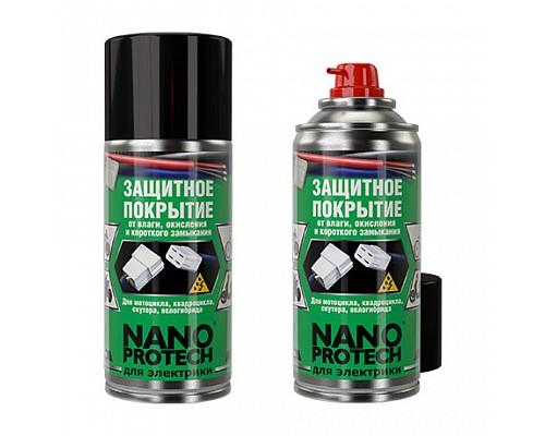 NANOPROTECH Защитное покрытие от влаги д/мотоцикла, квадроцикла, скутера (для электрики) 210мл 1/12