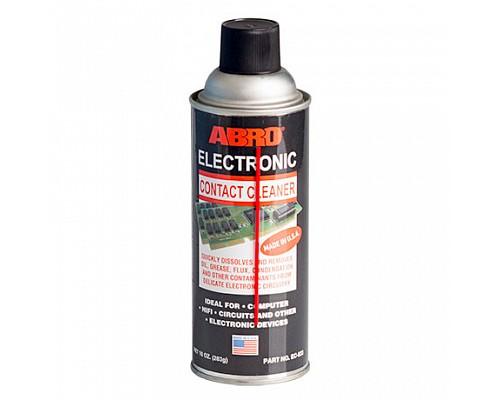 ABRO очиститель контактов EC-833-R 283г. 1шт./12шт.