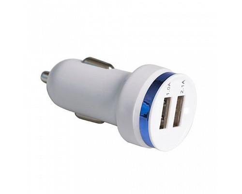 АЗУ 2USB БЕЛЫЙ Universal USB Universal 1A-2.1A 12-24V