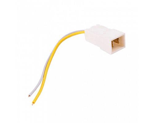 Колодка на 2 контакта (6,3мм) с проводами S=0.75мм L=120мм ДИАЛУЧ КЛ065-1
