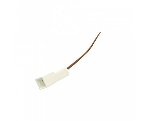 Колодка на 1 контакт (2,8мм) с проводами S=0.5мм L=120мм ДИАЛУЧ КЛ164-1