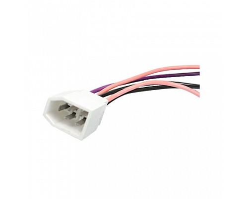 Колодка на 5 контактов (2,8мм) с проводами S=0.5мм L=120мм ДИАЛУЧ