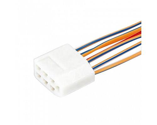 Колодка на 7 контактов (2,8мм) с проводами S=0.5мм L=120мм ДИАЛУЧ