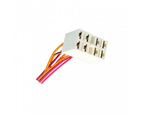 Колодка панели приборов ВАЗ-2101-07 с проводами S=0.75мм L=120мм ДИАЛУЧ КЛ056-1В