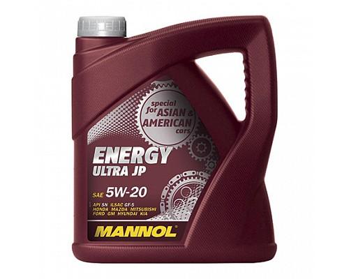 MANNOL UJ40158 Синт. моторное масло Energy Ultra JP SAE 5W-20 (4л.) 1/4шт. 4001