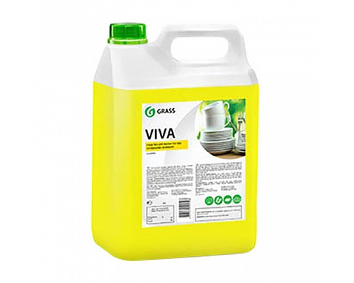GRASS Средство для мытья посуды с усиленной формулой Viva 5л 345000