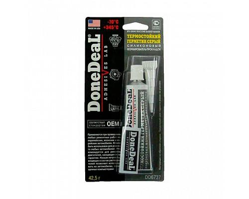 DD6737 Термостойкий серый силиконовый формирователь прокладок 42,5 г 1шт/12шт