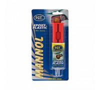 MANNOL 9904 Клей для пластмасс/Epoxi-Plast 30гр. 1/12уп/144шт. 2405