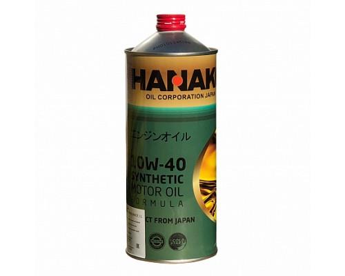 HANAKO Моторное масло п/синтетика GREEN 10W40 1L
