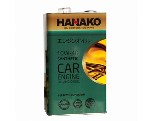 HANAKO Моторное масло п/синтетика GREEN 10W40 DIESEL 6L