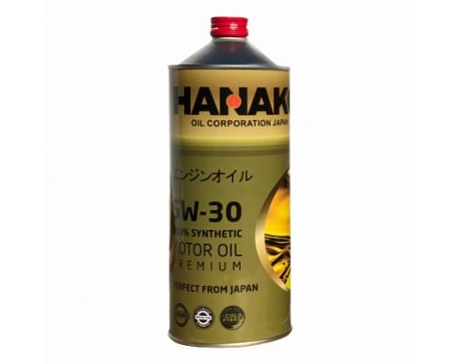 HANAKO Моторное масло синтетика GOLD 5W30 1L