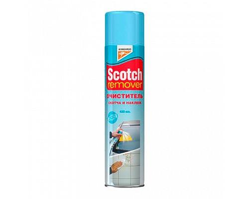 KANGAROO Scotch remover удалитель скотча и наклеек 420мл./20шт. 331214