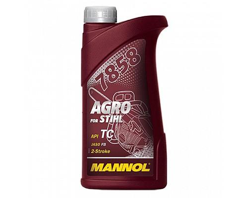 MANNOL Agro for STIHL Синтетическое масло для 2Т техники STIHL 1 л. 7858