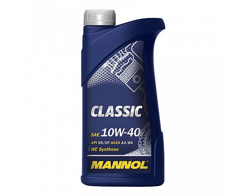 MANNOL CL10120 П/синт. моторное масло CLASSIC SAE 10W/40 (1л.) 1/20шт. 1100
