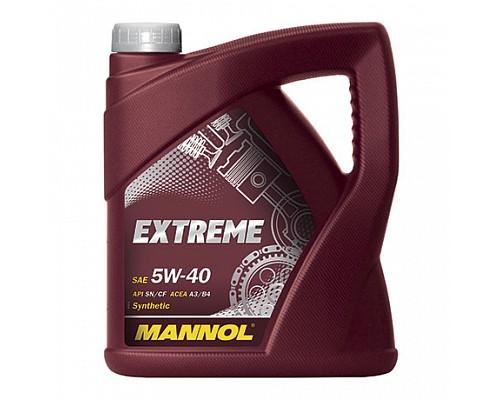 MANNOL EX42550 Синт. моторное масло Extreme SAE 5W-40 (4л.) 1/4шт. 1021