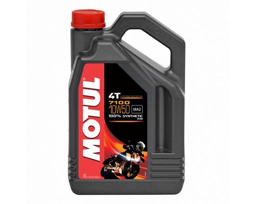 Motul Масло 4Т мото синт 10w50 7100 SN, MA2/4L/ 104098