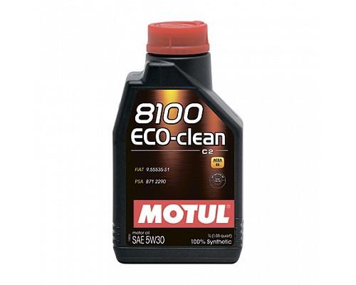 Motul Масло  моторное синт 5w30 8100 Eco-Clean С2 SN/CF /1L/ 1/12 101542