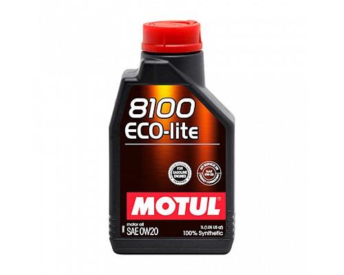 Motul Масло  моторное синт 0w20 8100 Eco-Lite  SN/CF; GF-5 /1L/