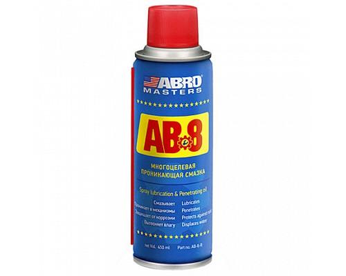 ABRO Смазка многоцелевая проникающая AB-8-450-R 450 мл ABRO Masters 1шт./12шт.