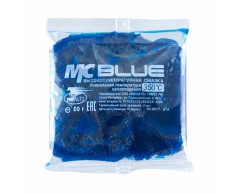 ВМПАВТО MC-1510 BLUE высокотемпературная смазка 50г стик-пакет