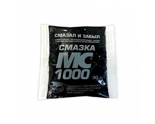 ВМПАВТО MC-1000 многоцелевая смазка 30г стик-пакет/7шт в ленте/100 шт в кор.