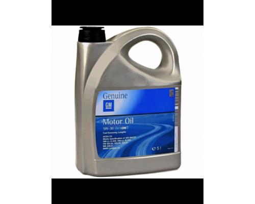 GM, Моторное масло синтетика DEXOS2 Longlife 5W30 5L