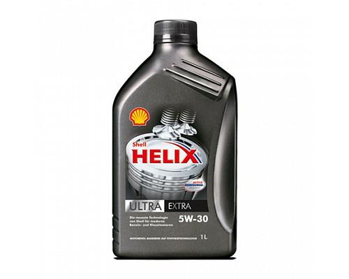 Shell  Helix Ultra EСT 5w30 1L синтетическое масло (Замена Ultra Extra) 1шт./12шт.