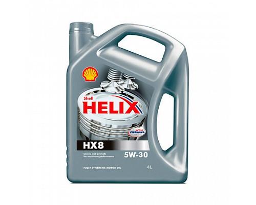 Shell  Helix HX8 5w30 4L синтетическое масло 1шт./4шт.
