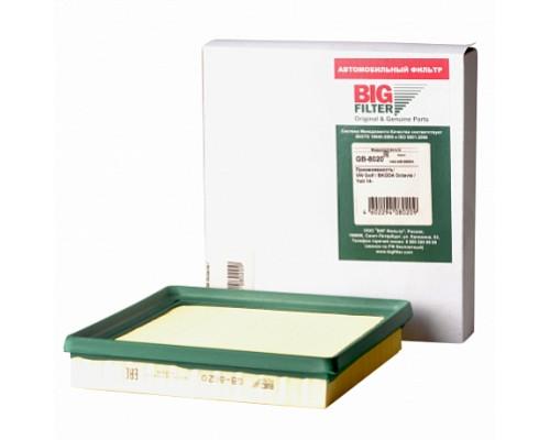 BIG FILTER Фильтр воздушный GB-8020 VAG POLO\RAPID\OCTAVIA\YETI 1,3-1,6 CWVA