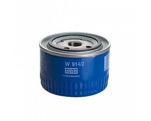 MANN FILTER Фильтр маслянный W 914/2 (10) LADA 2108-2110