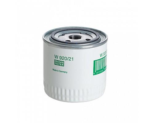 MANN FILTER Фильтр маслянный W 920/21 (10) LADA 2101-2121