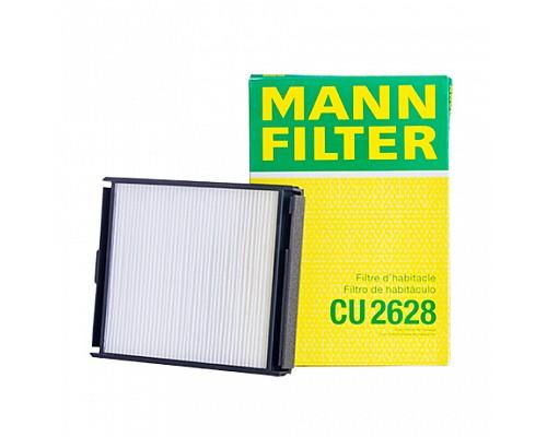MANN FILTER Фильтр салона CU 2628