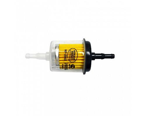 NF-2002 Фильтр топливный (карб.,прямоточный) 250шт\кор
