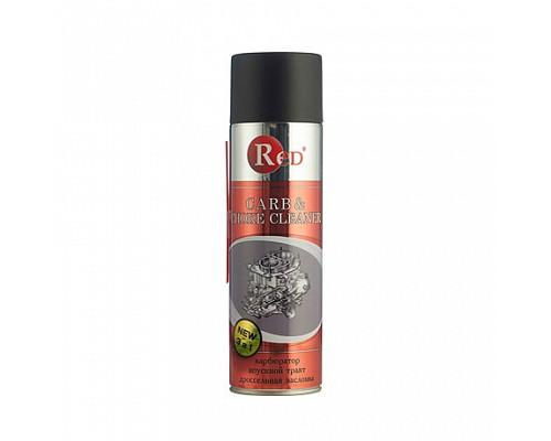 RED R3651 Очиститель карбюратора,дроссель заслонки  650мл. 1шт./12шт. RE-3651