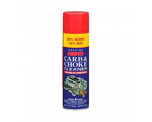 ABRO очиститель карбюратора +20% CC-220-R 340г. 1шт./12шт.
