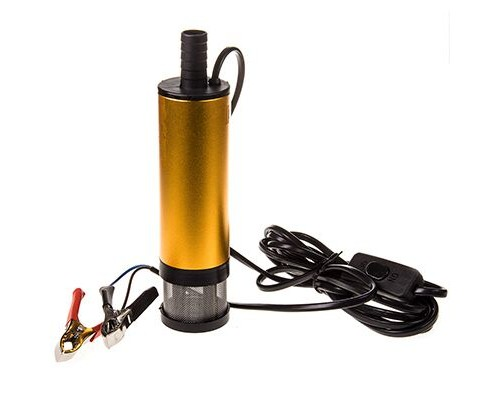 Насос перекачки топлива 12В для солярки 51 мм 30 л/мин с фильтром SKYWAY