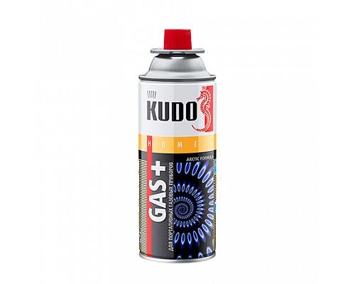 KUDO KU-H403 Газ для портативных газовых приборов GAS+  520мл./12шт.