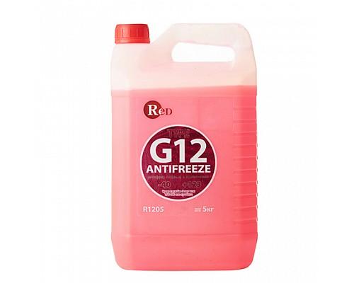 R1205 Антифриз, готовый к применению G12 КРАСНЫЙ 5кг RED 1ш./4шт