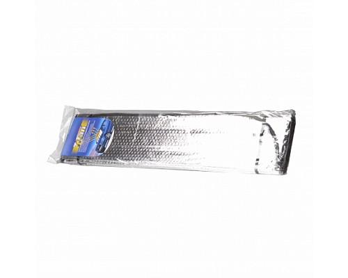 Шторка солнцезащитная 150*70см серебристая длинная