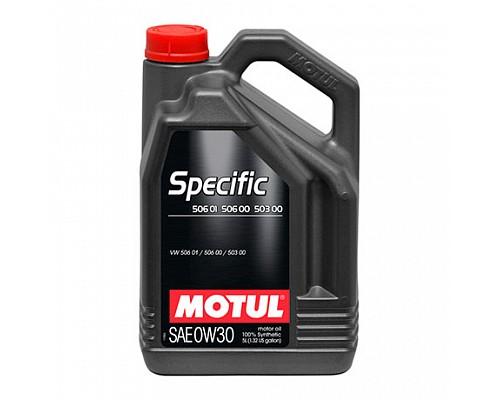 Motul Масло  моторное синт 5w30 Specific VW 504.00.507.00 5L