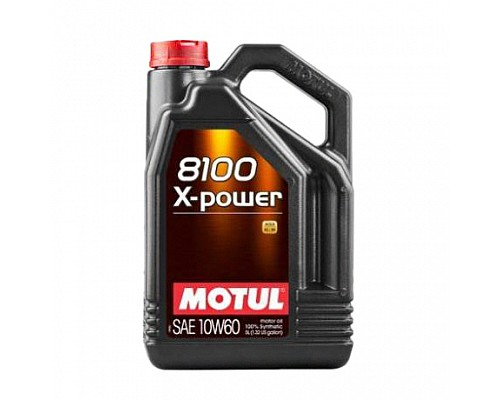 Motul Масло  моторное синт 10w60 8100  X-Power  A3/B4, SN/CF/4L/ 106143