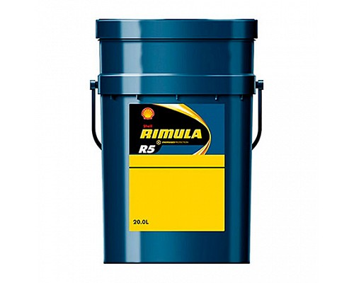 Shell  Helix Rimula R5 Е 10w40 дизельное масло моторное, полусинтетическое 20л