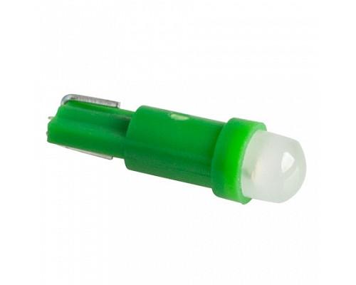 Автолампа светодиодная T5c-HPCE0.5 зеленые 12V (50)