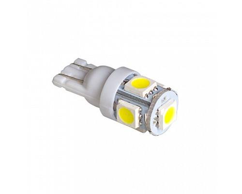 Автолампа светодиодная W5W T10p-W5005 24V (50)