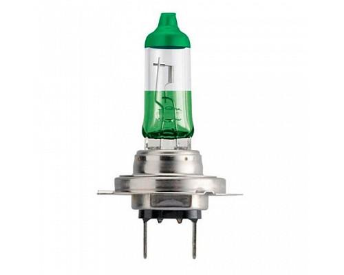 Автолампа PHILIPS H7 (55) 12972CVPGS2 PX26d Зеленая +60% ColorVision Green (2шт)