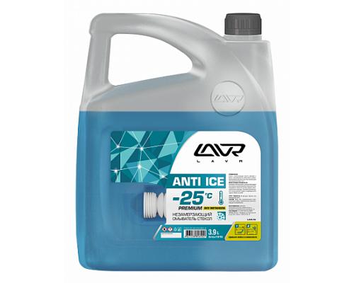 Ln1315 Незамерзающий омыватель стекол -25°С LAVR Anti-ice Premium 3,9 л