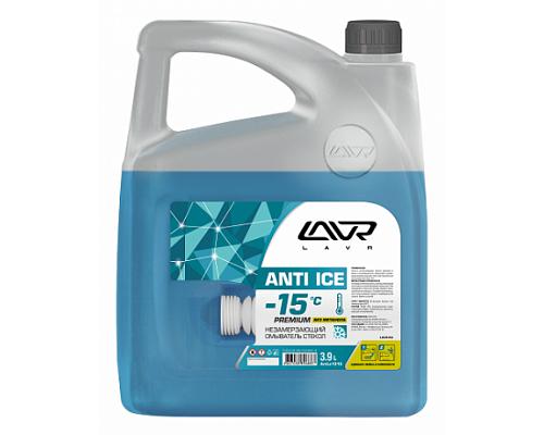 Ln1313 Незамерзающий омыватель стекол -15°С LAVR Anti-ice Premium 3,9 л