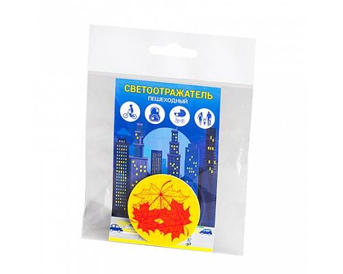 Световозвращатель значок Кленовый лист 51009.95